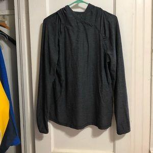 Danskin long sleeve hooded shirt